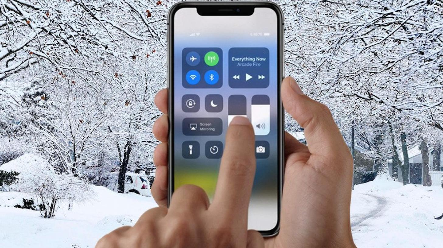 iPhone X Not Working Cold Weather Unresponsive1