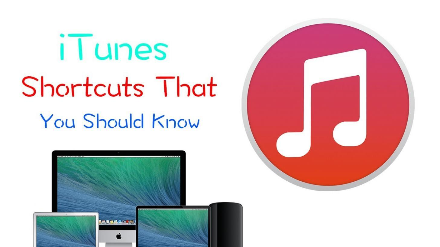 itunes shortcuts1