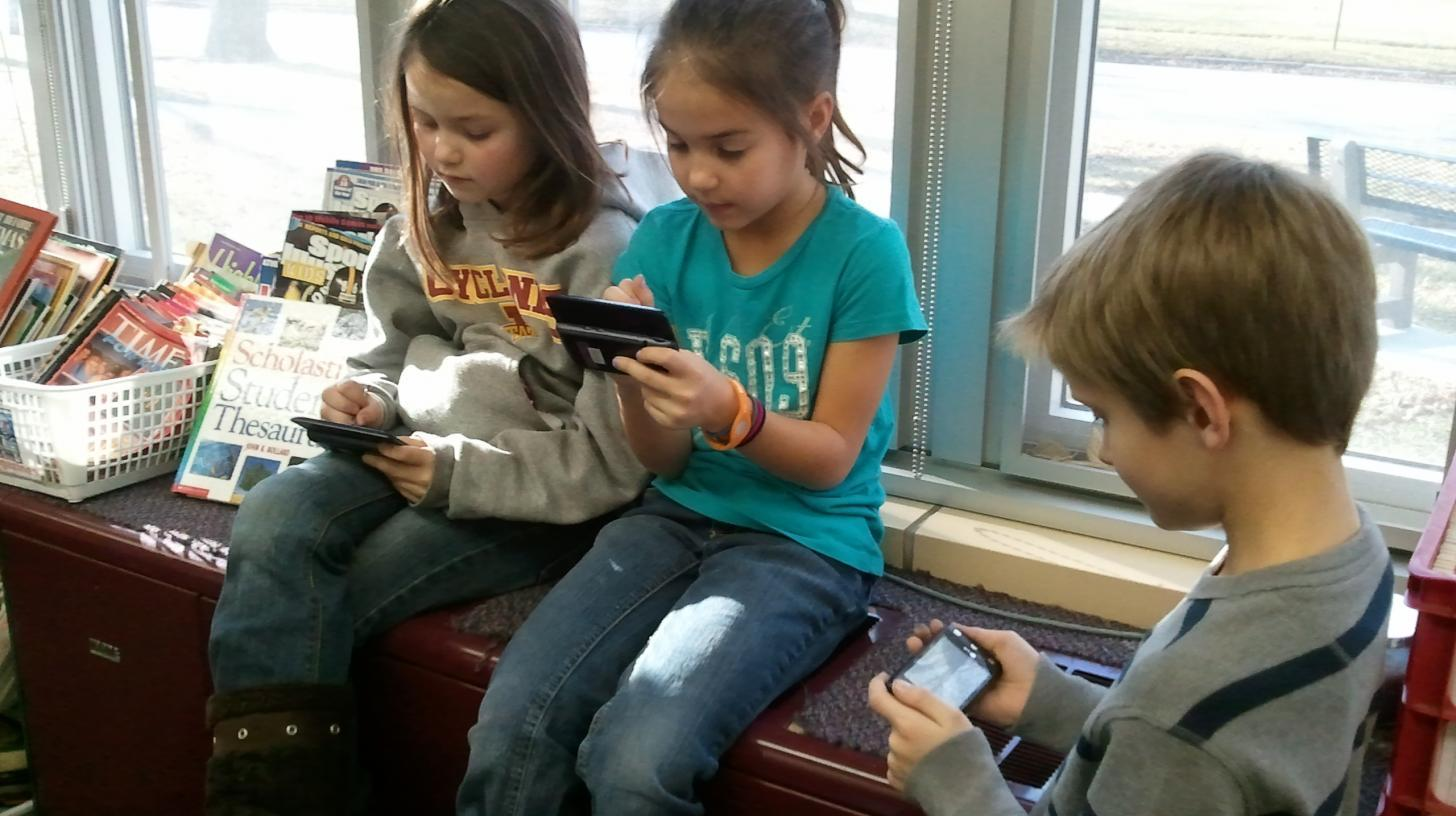 mobile devices in class